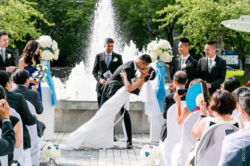 Fountain Square Ceremony
