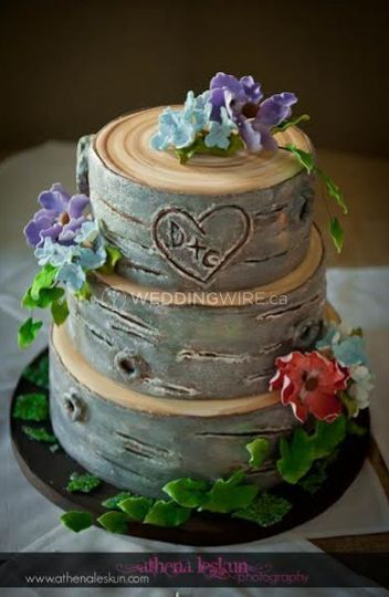 tree stump wedding cake kick cakes 21255