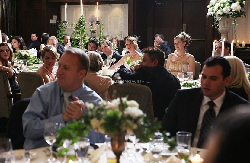 Ceremony in Main Dining
