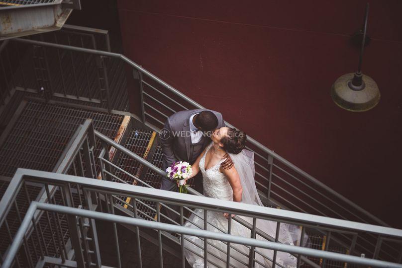 Urban Vancouver wedding