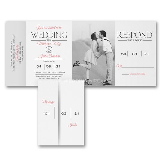 Montreal Wedding Invitations