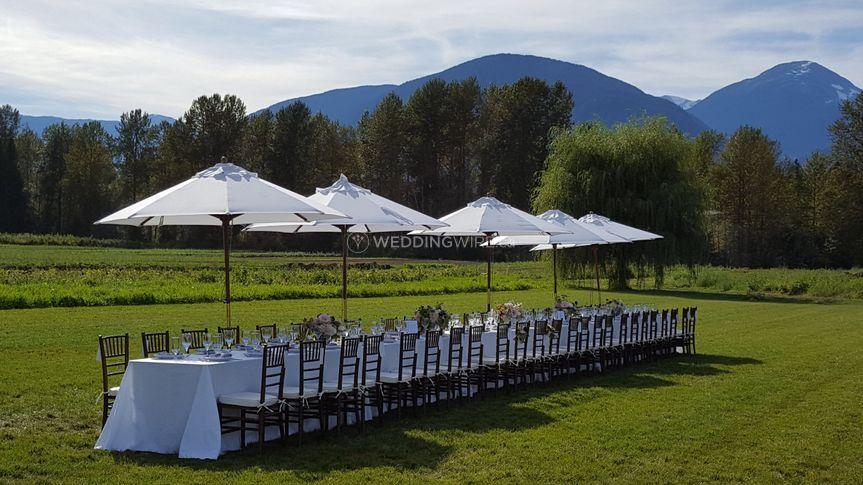 Long Table - North Arm Farm