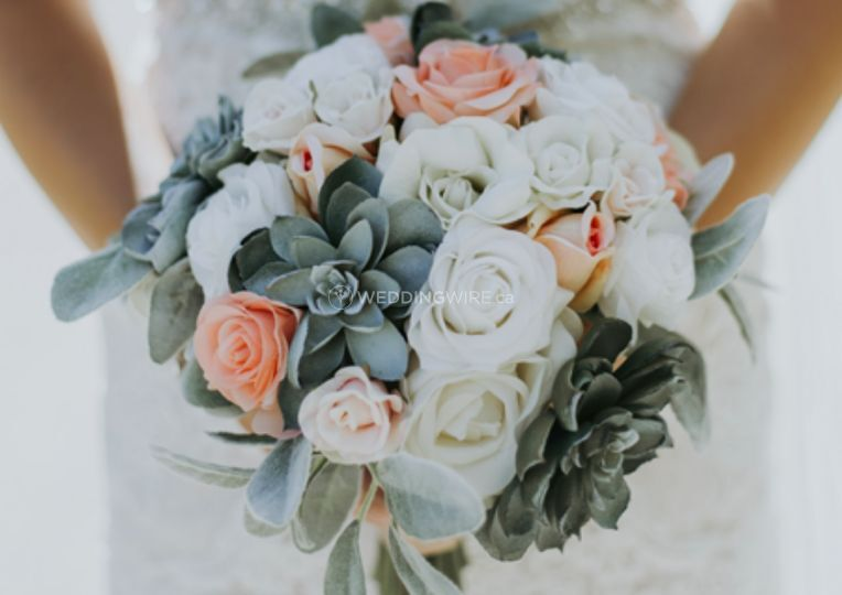 Destination or Not Bridal Real Touch Bouquets