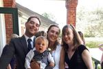 Zack and Christine and baby E