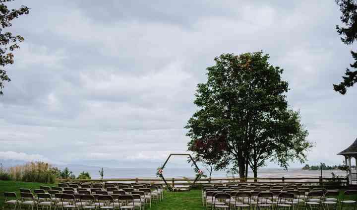 Oceanfront park setting