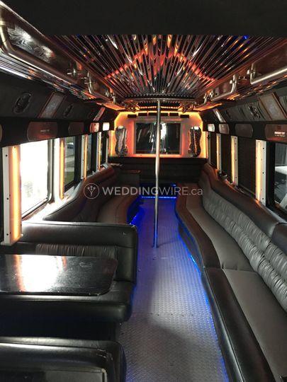 30 Passengers Limo Bus
