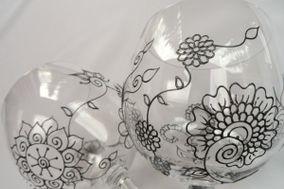Mehndi Glass