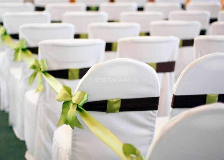 Ceremony Chairs with Covers