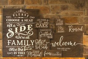 Wedding Sign Rentals Burlington