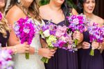Purple Tone Bridal Party
