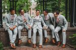 Michael & his groomsmen
