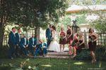 Sophia & Derek + wedding party