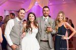Wedding Reception grou photo