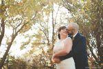 Brenda & Reid with fall trees
