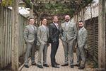 Winter groomsmen portrait