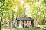 Wedding Party by the shack