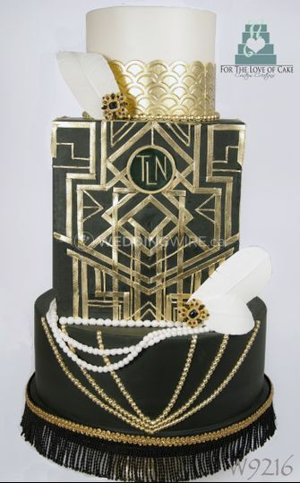 gatsby wedding cake stand for the of cake 14654