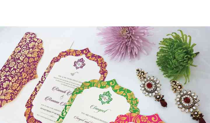 Sikh Wedding Invitation 2
