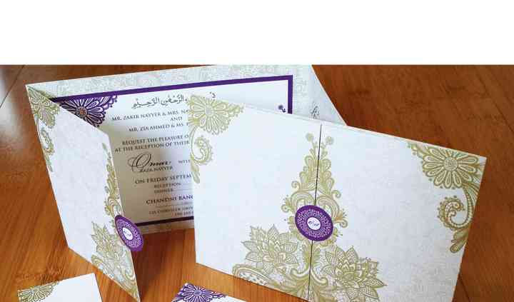 Gate Fold Invitation