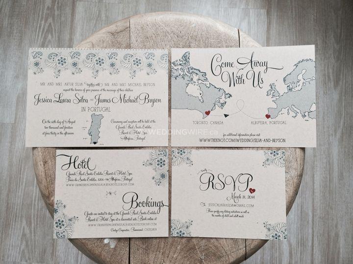 Wedding Invitation Printing Toronto: Bueno Market