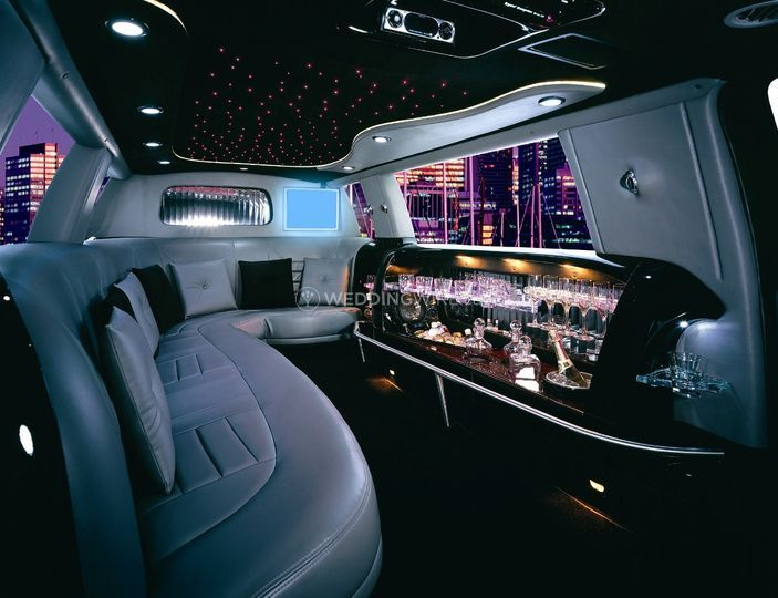 Interior Crystal SUV limo