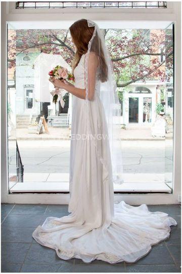 Vintage Bride Dress Attire Toronto Weddingwire Ca