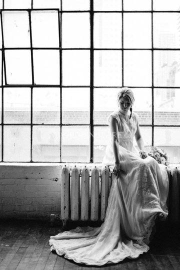 Stunning Vintage Wedding Dress