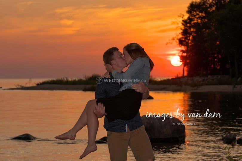 Sunset Engagement Wasaga