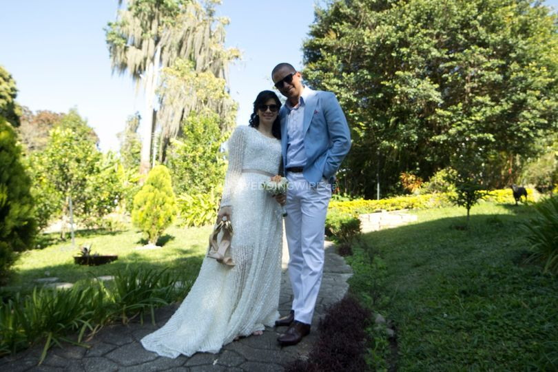 Casual Spring Wedding Look
