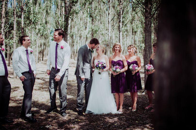 Wedding Party, in Winkler, MB