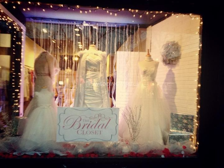 photos of the bridal closet