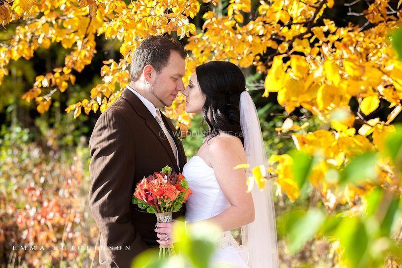 Newfoundland and Labrador wedding couple