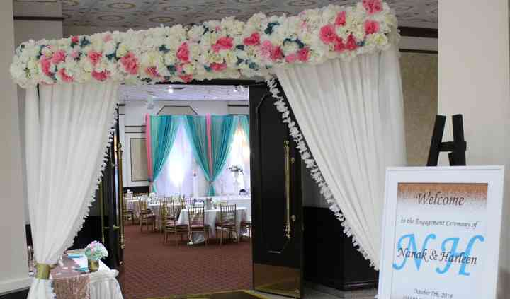 Double Sided Flower Arch