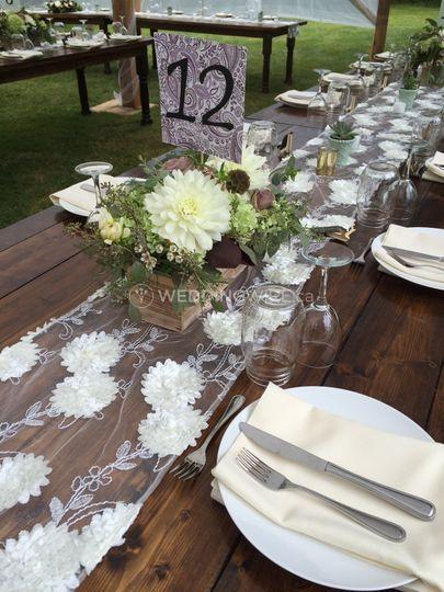Outdoor wedding in Squamish