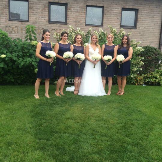 Bride & Briadsmaids