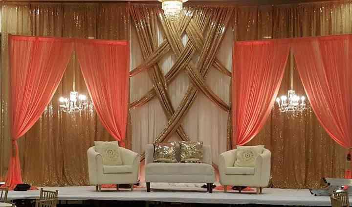 Reception Backdrop