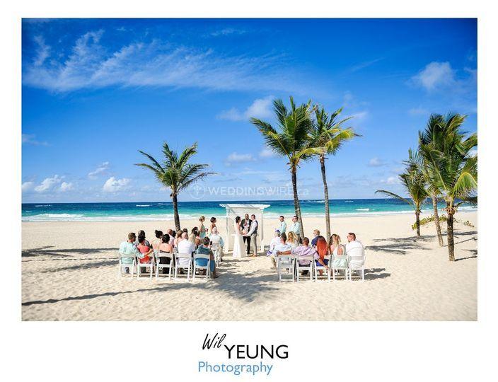 Beachfront Destination Wedding