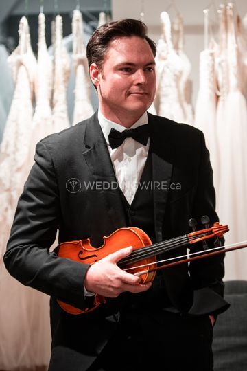 Toronto Violinist Darcy Stamp