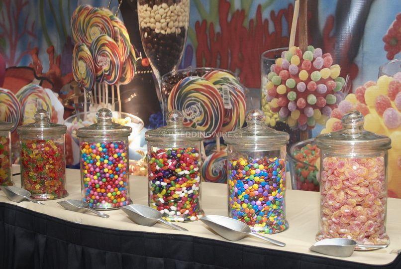 Gourmet candy bar