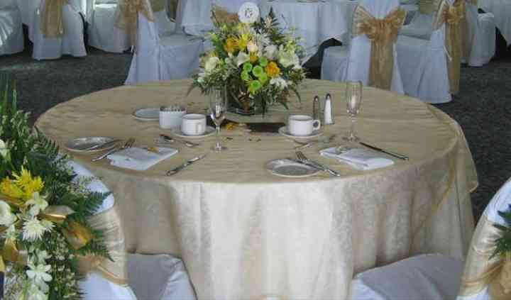 Delta, British Columbia wedding decor