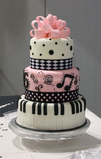 Musician Wedding Cake