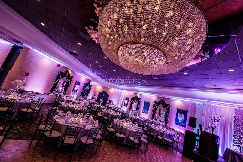 Fantasyland Hotel Edmonton Wedding