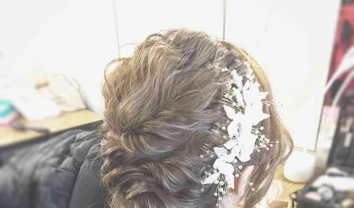 Asian style hair