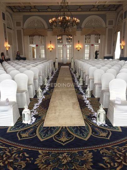 Ceremony at fairmont hotel edm