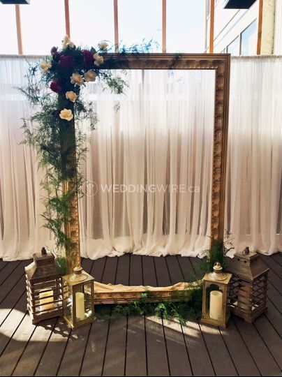 Giant picture frame