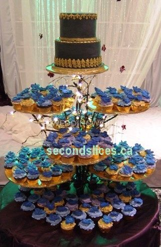 wedding cakes and cupcakes edmonton second slices cakery inc 23789
