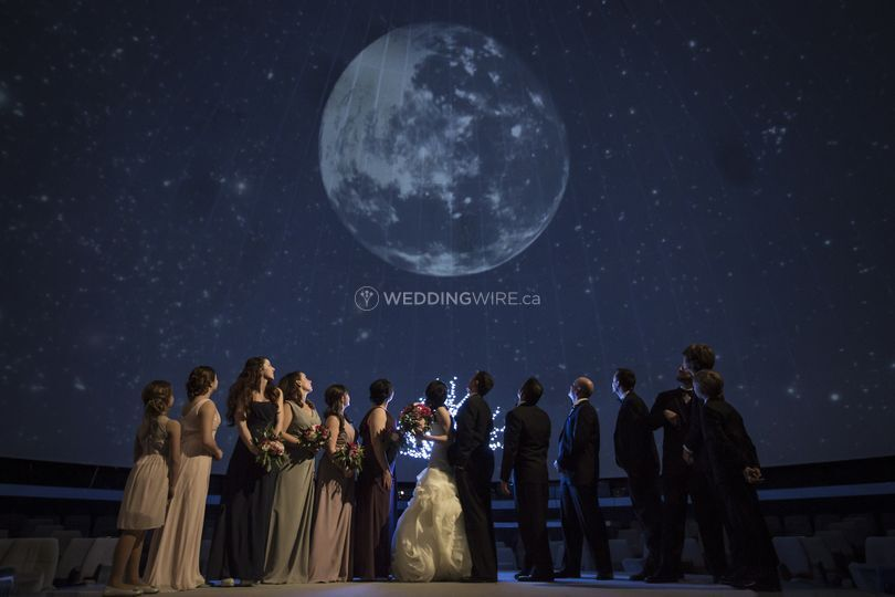 Telus World of Science Wedding