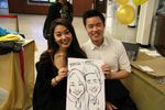 Vancouver Wedding Caricature