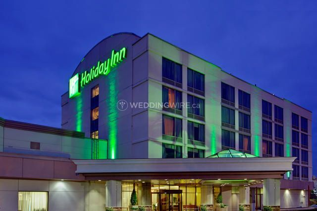 Hotel Exterior - Night Time