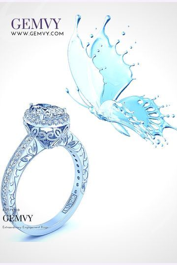 1511- butterfly inspired ring